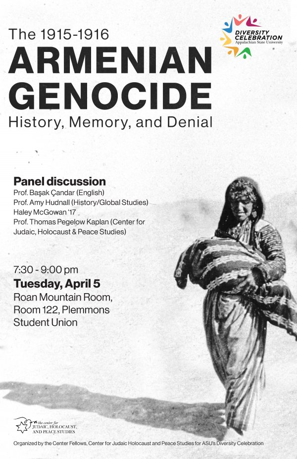 Armenian Genocide Panel - Spring 2016 - Photo