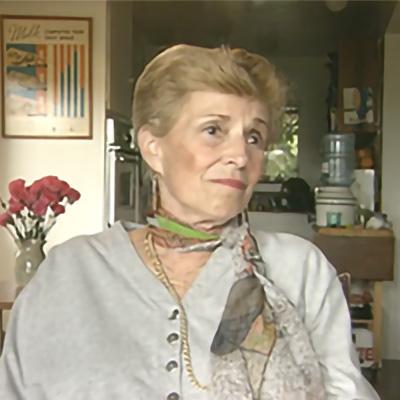 S. Cernyak-Spatz, Auschwitz-Birkenau Survivor, '18
