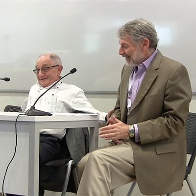 Survivor Prof. S. Redlich Interviewed by Prof. G. Finder, Akko Conference, 2019