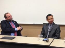 Interreligious Dialogue Panel - Spring 2016 - Photo