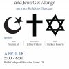 Interreligious Dialogue Panel - Spring 2016 - Photo