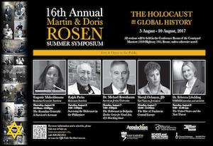 16th annual Martin & Doris Rosen Summer Symposium