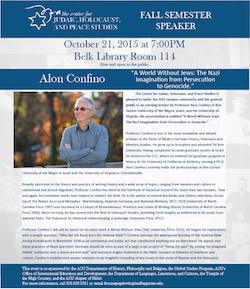 Alon Confino lecture
