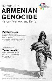 Armenian Genocide: History, Memory, and Denial