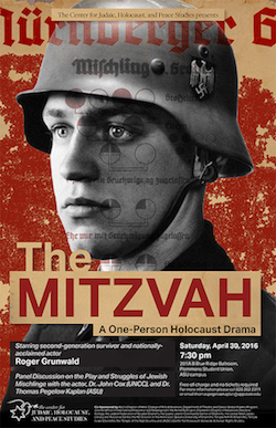 The Mitzvah: A One-Person Holocaust Drama Poster by Anna Cantrell