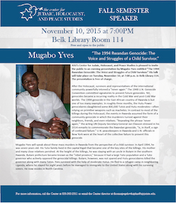 Mugabo Yves presentation