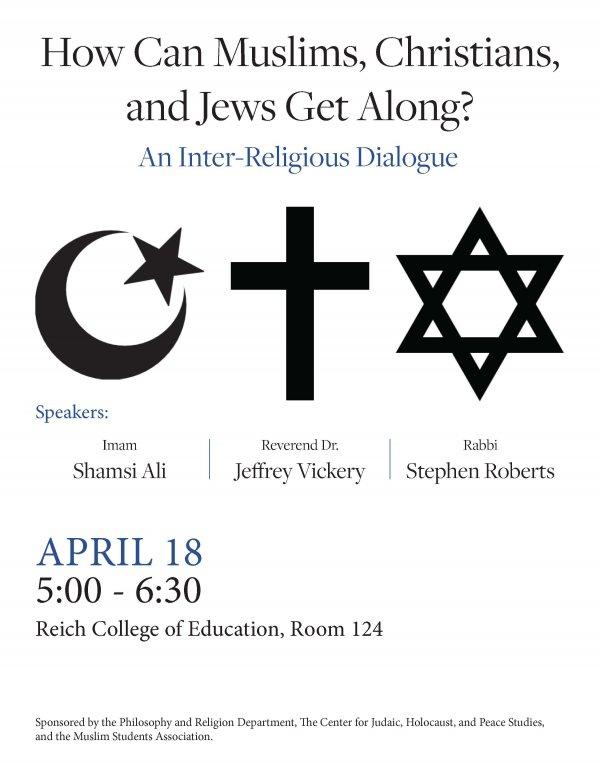 Religionpanel 2g Center For Judaic Holocaust And Peace