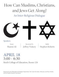 How Can Muslims, Christians, and Jews Get Along? An Inter-Religious Dialogue