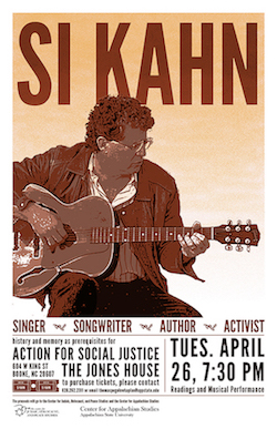Si Kahn poster by Anna Cantrell