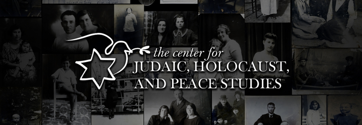 the Center for Judaic, Holocaust and Peace Studies at Appalachian State University