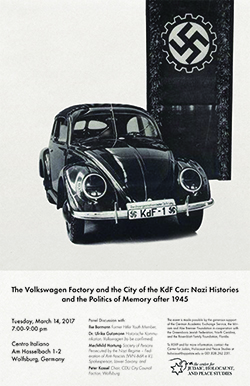The Volkswagen Factory and the City of the KdF Car Poster